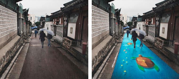 Straßenkunst kommt bei Regen zum Vorschein Project-Monsoon_03