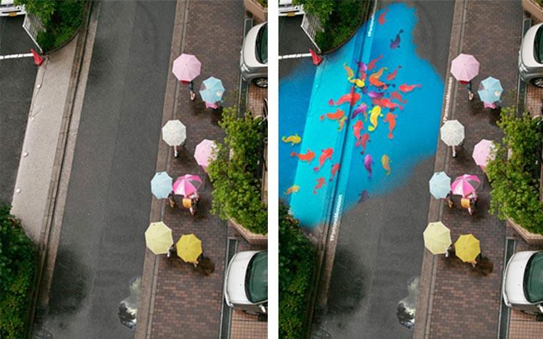 Straßenkunst kommt bei Regen zum Vorschein Project-Monsoon_04