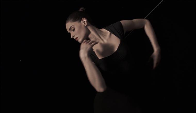 Tanz mit der digitalen Linie
