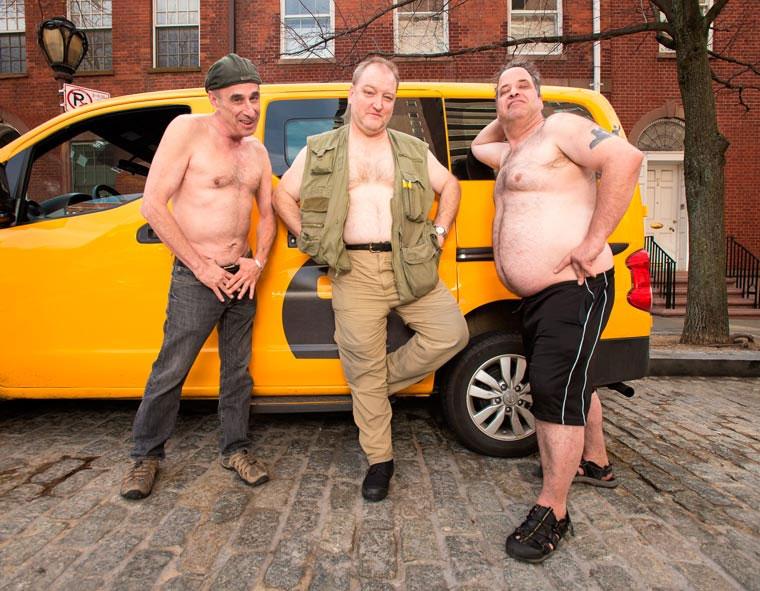 Sexy Taxifahrer Kalender 2016
