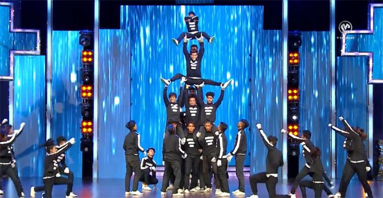 Geniale Breakdance-Einlage der V Company V-Company-Mega-Crew