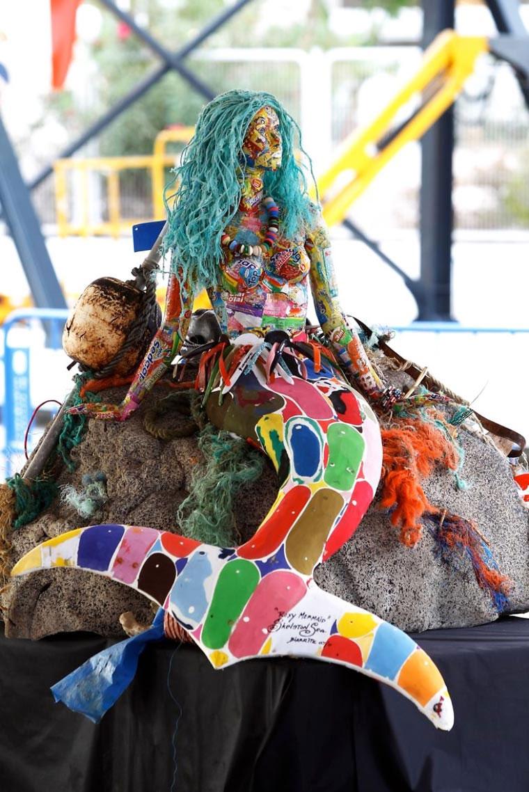 Tierskulpturen aus angeschwemmtem Müll Washed-Ashore-Project_10