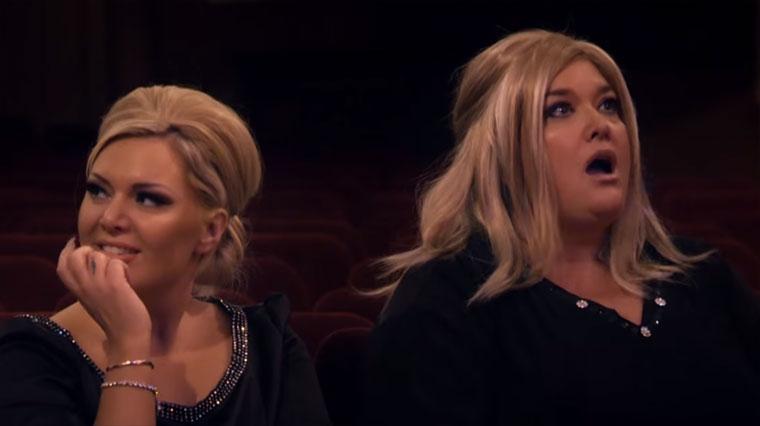 Adele beim Adele-Imitations-Wettbewerb adele-imitation-contest
