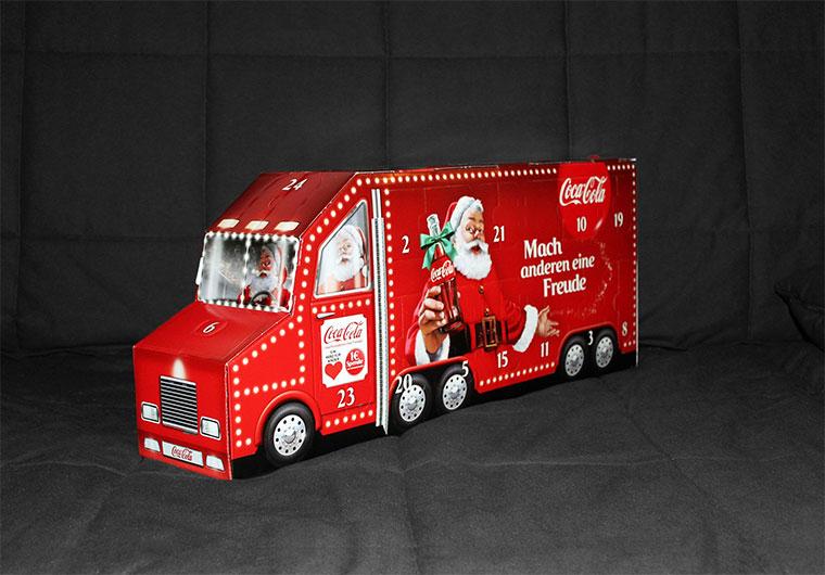 Ein #goldenerSchlüssel lässt dich im Weihnachtstruck mitfahren! coke-adventskalender-2015