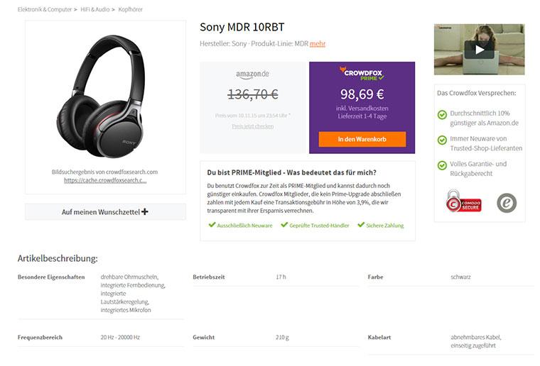 Crowdfox: 10% günstiger als Amazon crowdfox_04