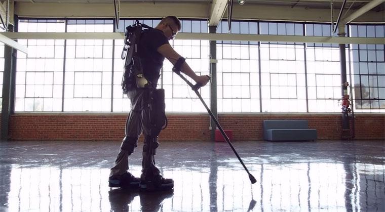 Exoskelette bringen Lahme zum Gehen exoskeleton