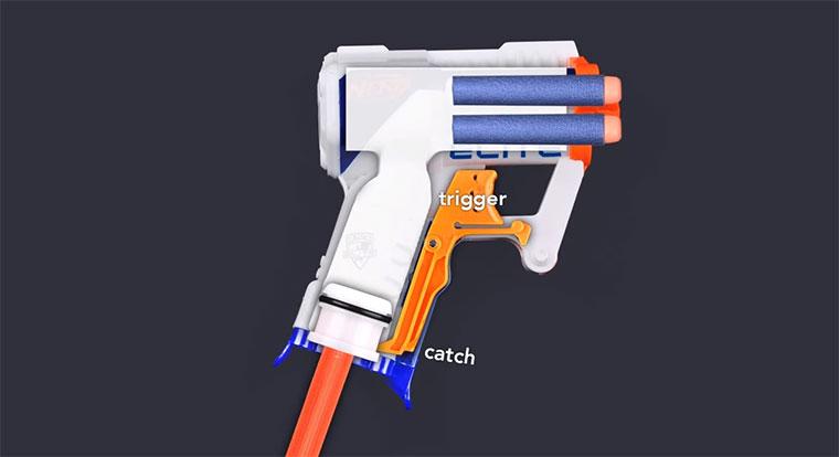 So funktioniert eine NERF Gun nerf-blaster-works