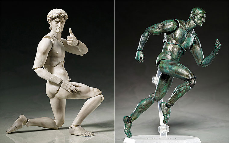 Action-Figuren klassischer Statuen sculpture-action-figures_01