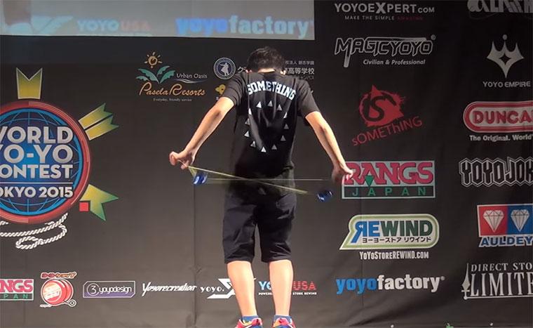 JoJo-Weltmeister 2015: Hajime Miura