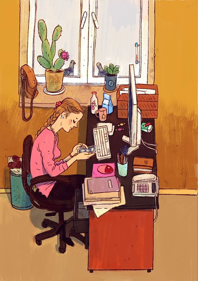 Schreibtisch-Stereotypen IT-Characters_06