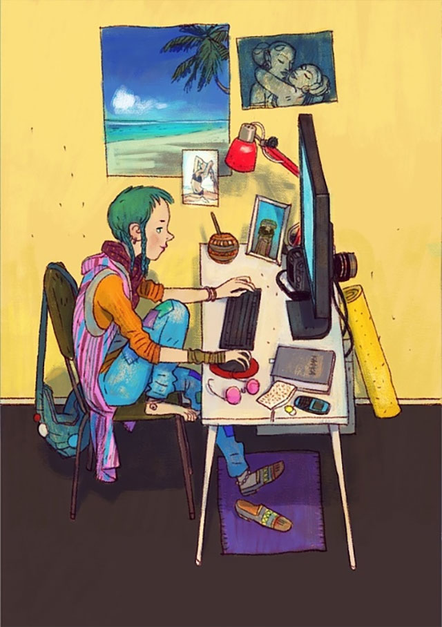 Schreibtisch-Stereotypen IT-Characters_08