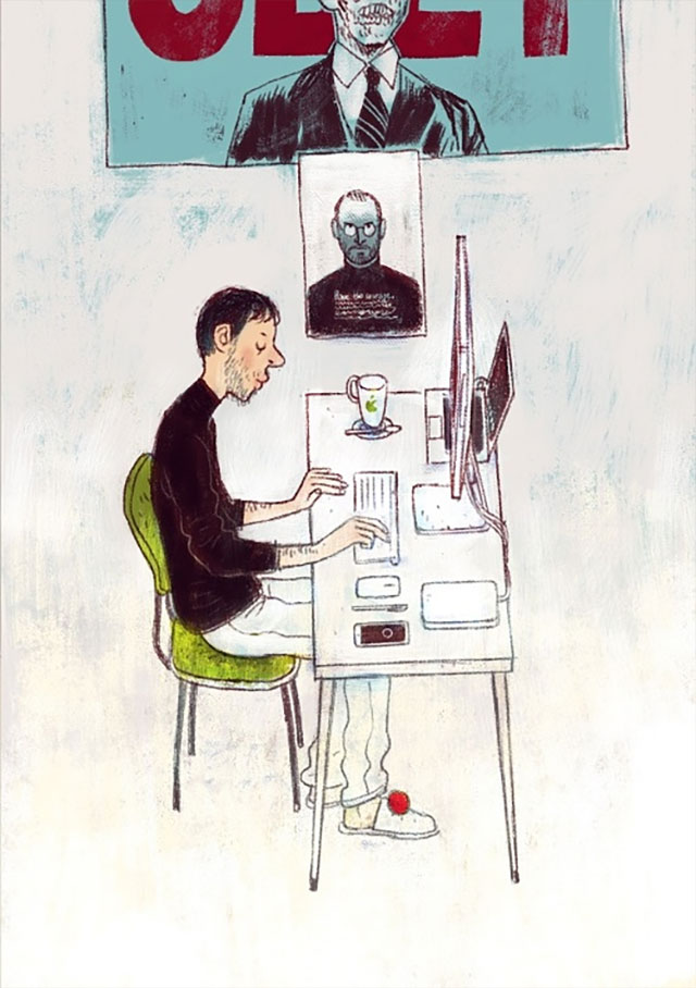 Schreibtisch-Stereotypen IT-Characters_11