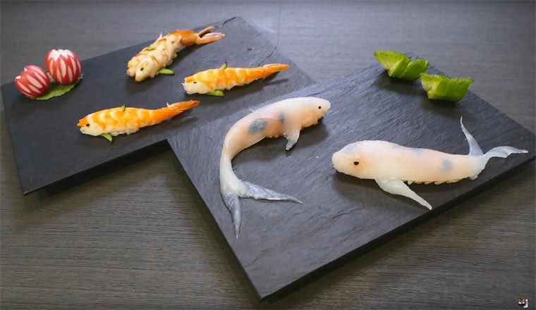 Schöner Sushi Koi-Fisch-Sushi_07