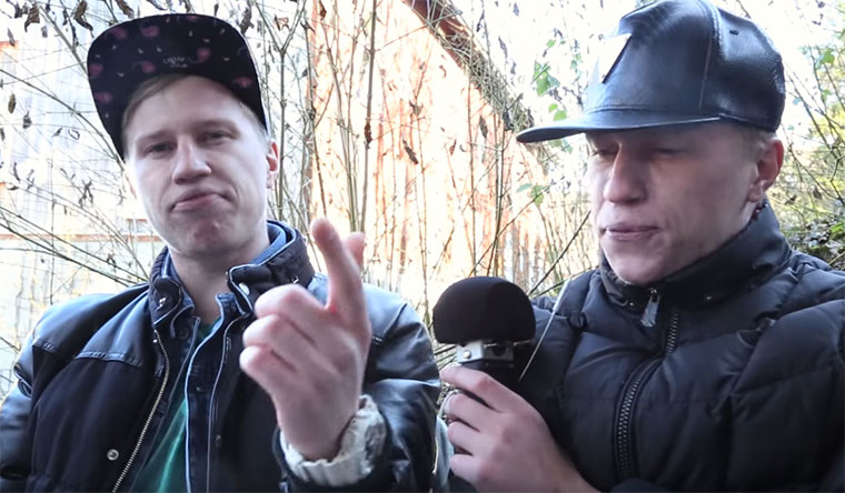 Beeindruckende Drum & Bass-Zwillings-Beatbox Mad-Twins-Drum-and-bass-beatbox