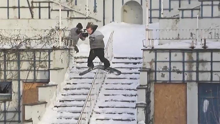 Snowboarding: Øivind Fykse