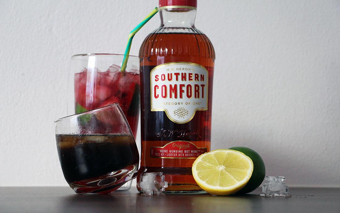 Gewinnt Southern Comfort-Barsets mit Cocktail-Ideen für Silvester Southern-Comfort-Longdrinks_03