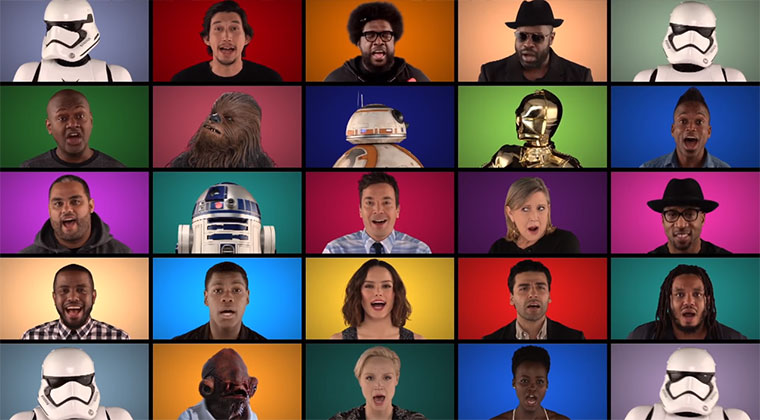 Star Wars: Macht-Szenen & A Capella-Cast