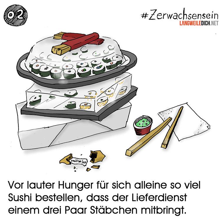 #Zerwachsensein 02: Sushi Zerwachsensein_021