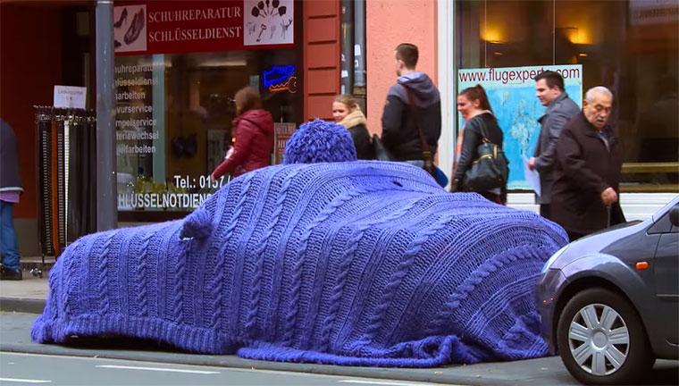 Pudelmütze fürs Auto Zurich-Automuetze
