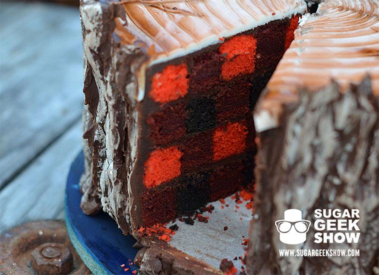 Lecker Holzfäller-Kuchen lumberjack-cake_03