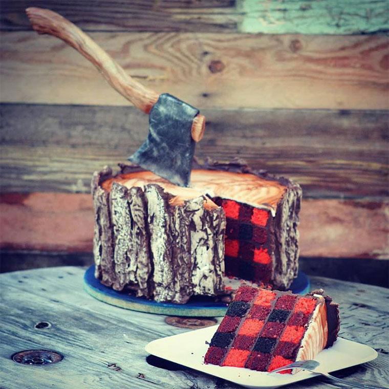 Lecker Holzfäller-Kuchen lumberjack-cake_07