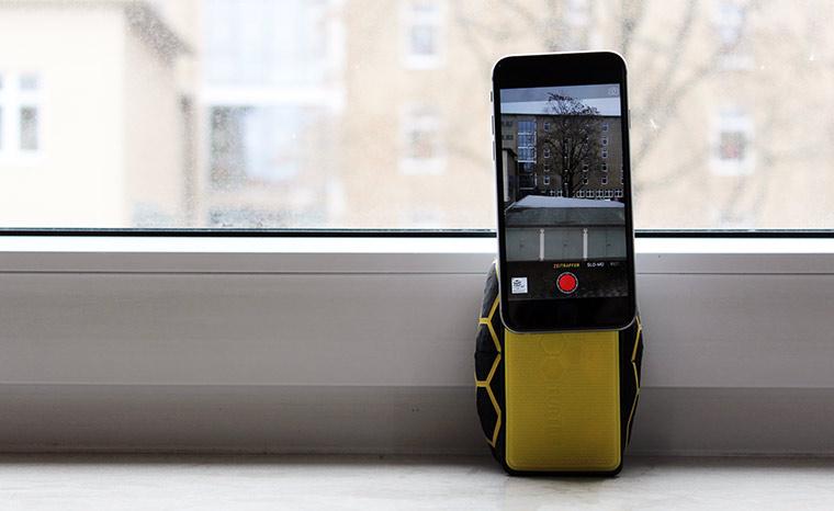 SmartTurtle: Sitzsack trifft Device-Halterung smartturtle-test_06