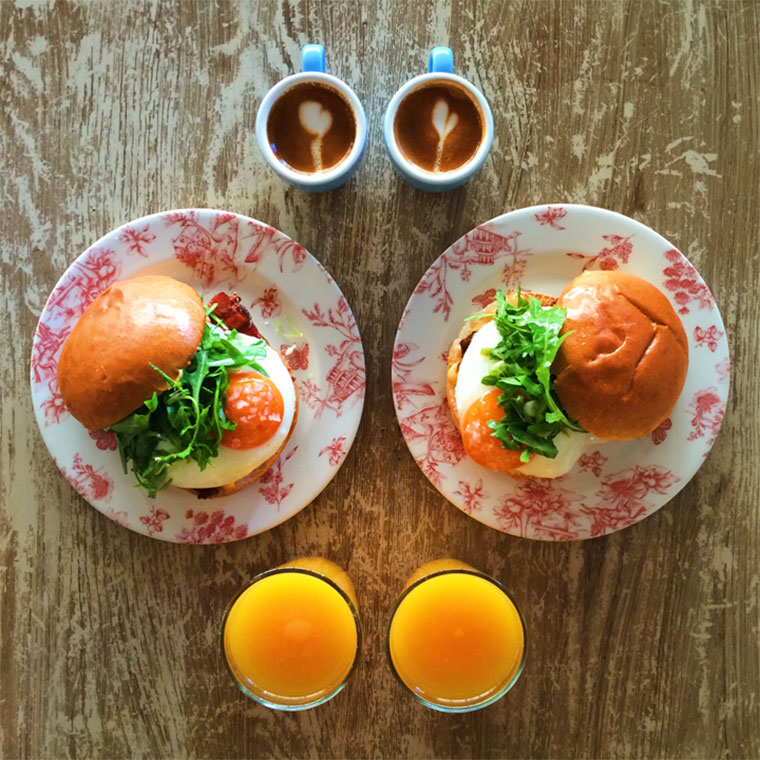Symmetric Breakfast