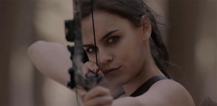 Actionreiche Tomb Raider-Parodie Boom-Raider