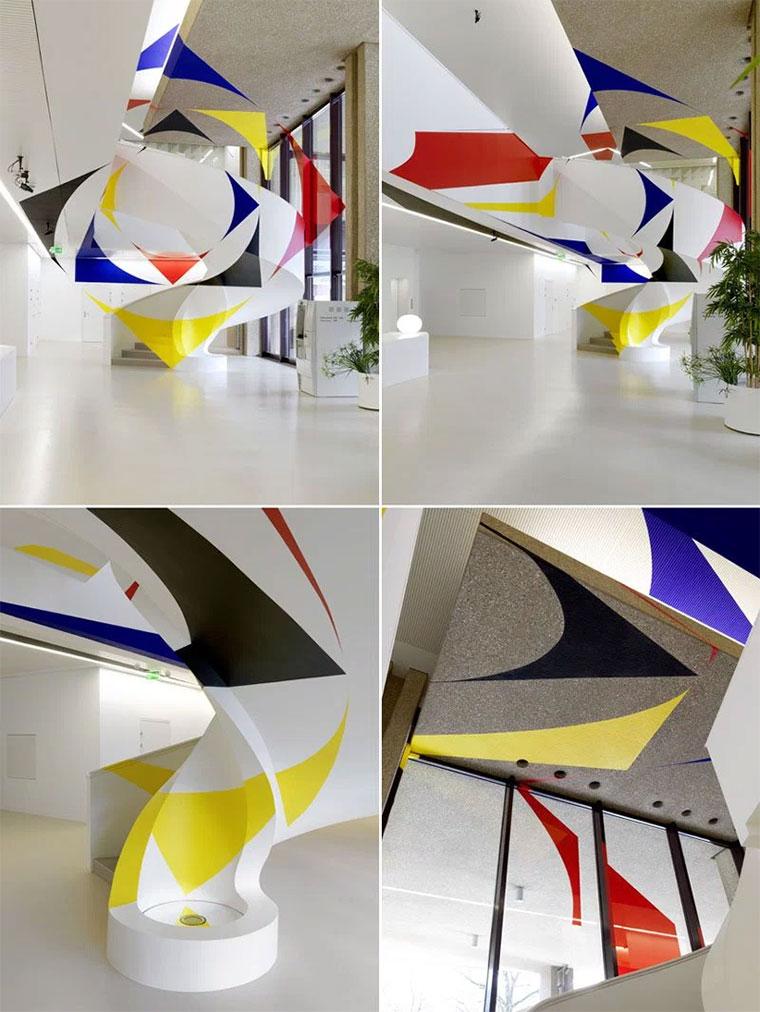 Neue Perspektiv-Gemälde von Felice Varini Felice-Varini-2015_02