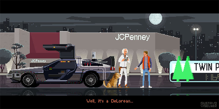 Filme in Pixel Art