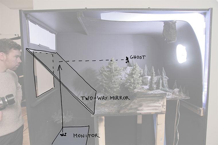 Filmszenen als Hologram-Dioramen Holorama2