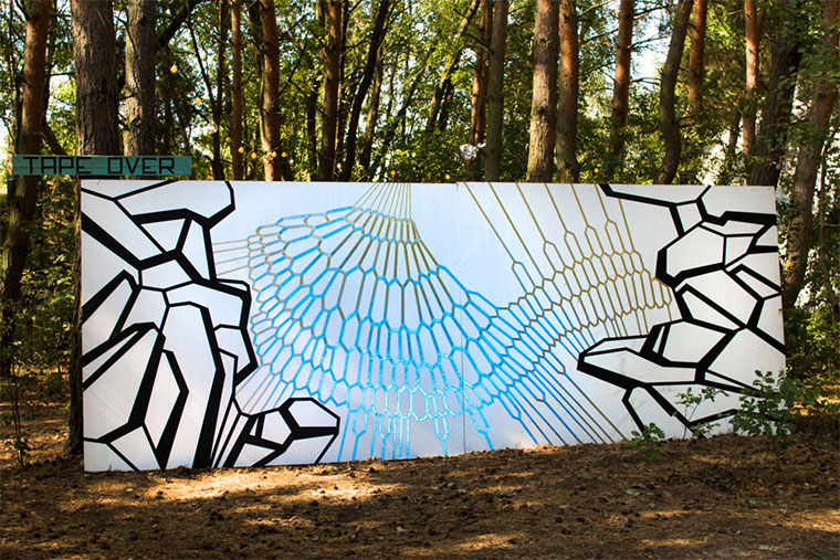 Tape Art von TAPE OVER aus Berlin TAPE-OVER_01