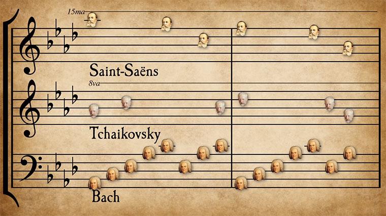 Mashup klassischer Musik classical-music-mashup