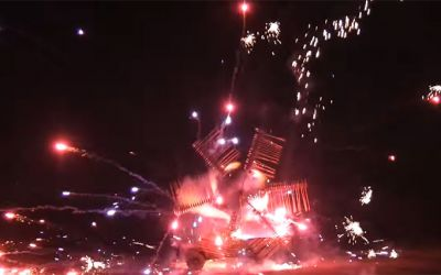 feuerwerk-rad