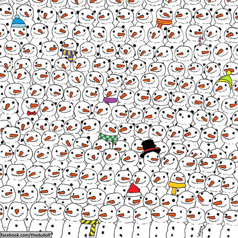 Findest du den Panda in 10 Sekunden?