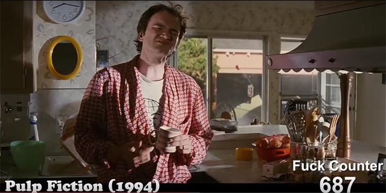 "Alle 1.371 ""Fucks"" in Tarantino-Filmen"