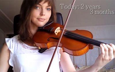 learning-violine