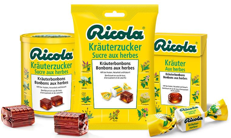 75 Jahre Original Ricola Kräuterzucker ricola-kraeuterbonbon
