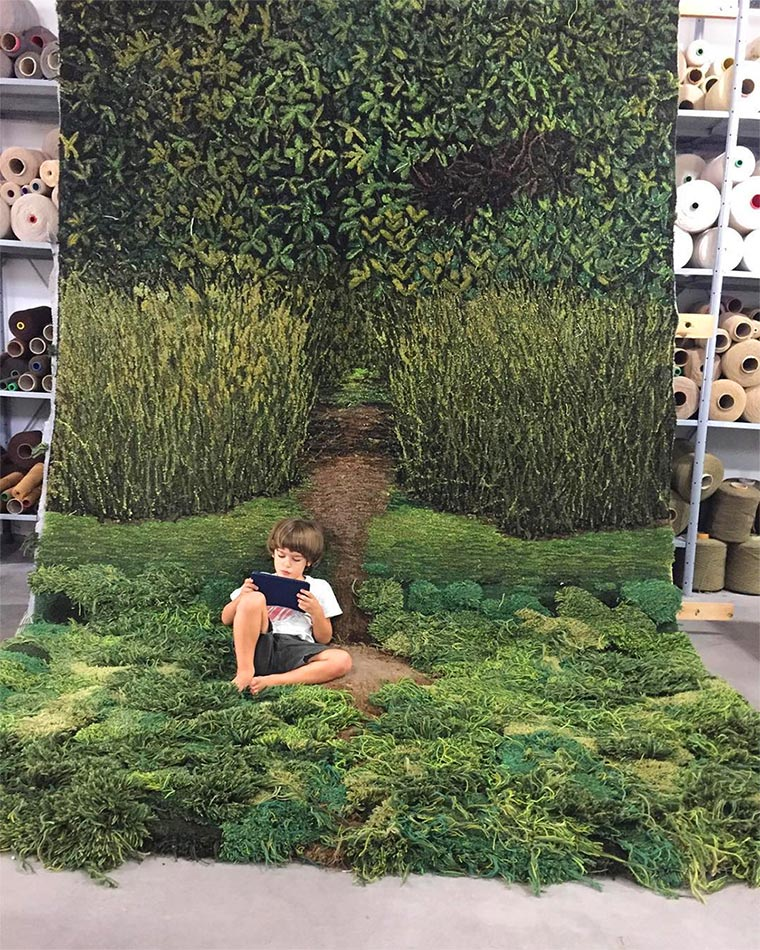 Kreative Teppiche bringen euch Natur ins Haus Alexandra_Kehayoglou_02