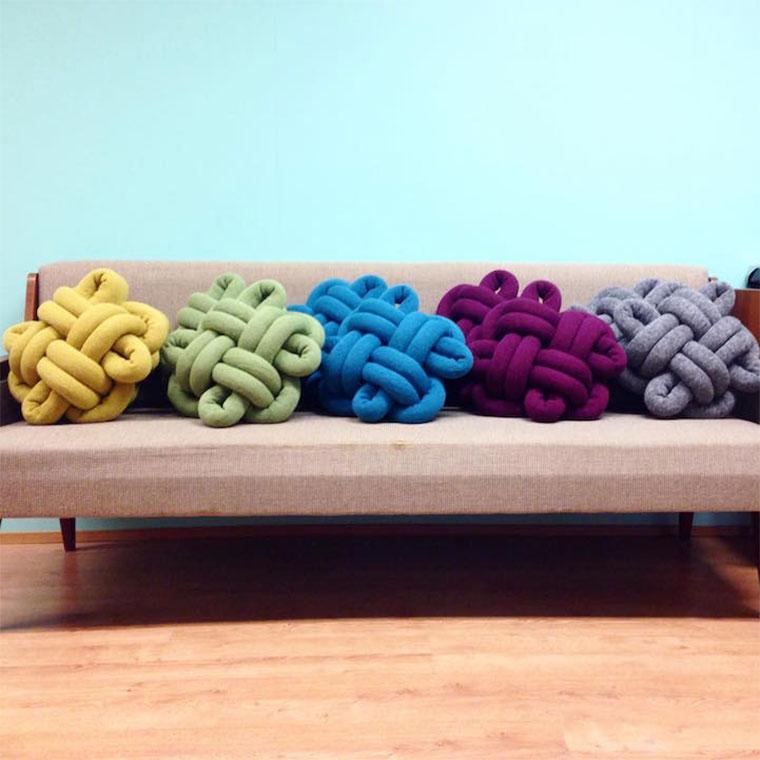 Stylische Knoten-Kissen Knot-Cushions_06