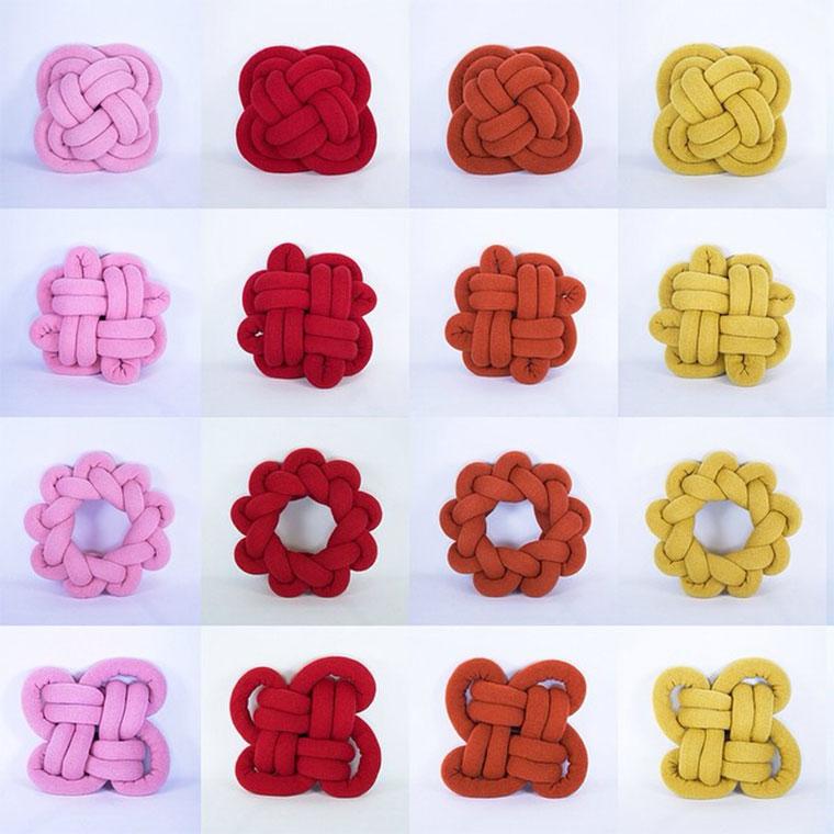 Stylische Knoten-Kissen Knot-Cushions_07