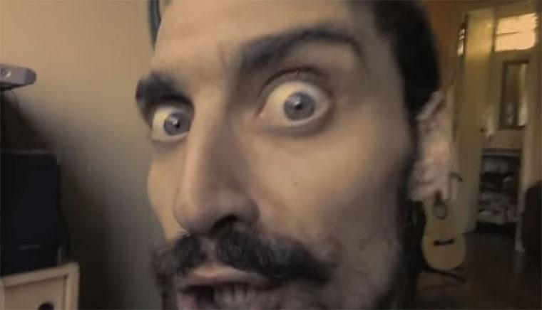 Der verrückte Lip Sync des Luciano Rosso