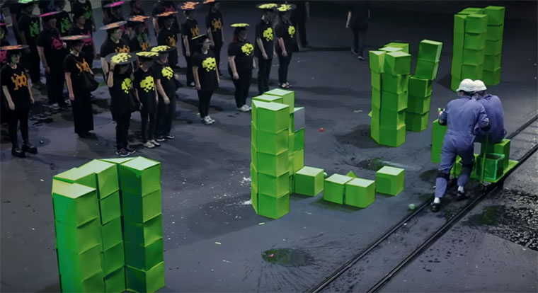 Real-Life-Space-Invaders