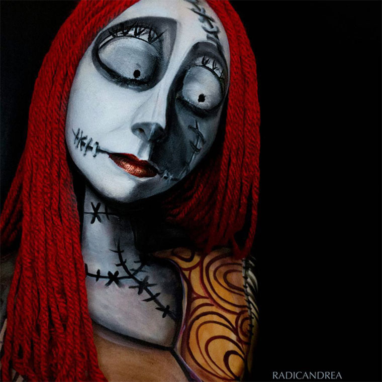 Creepy-geniale Make-up-Verwandlungen andrea-de-la-ossa_02
