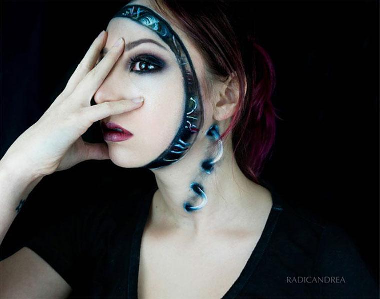 Creepy-geniale Make-up-Verwandlungen andrea-de-la-ossa_06