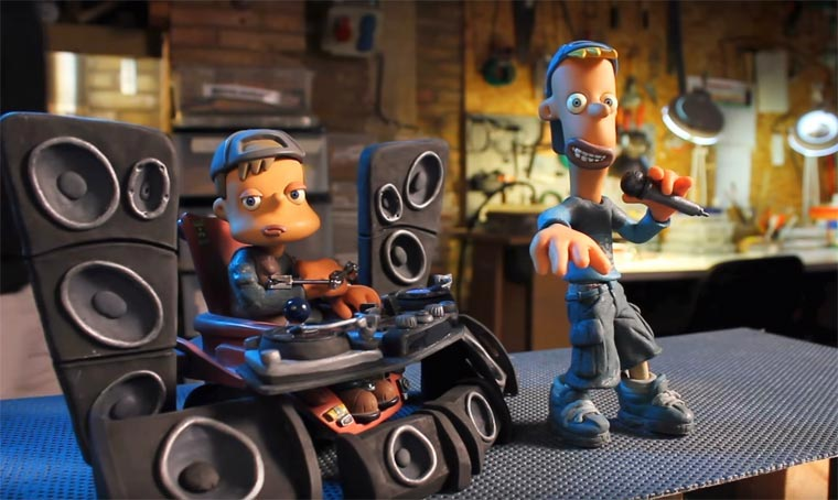 Wie Knet-Stopmotion funktioniert clay-kids
