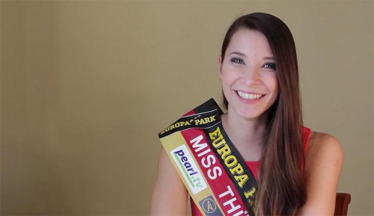Miss Thüringen 2016 erzählt einen Witz…