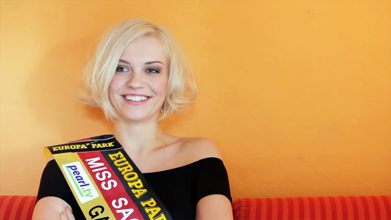 Miss Sachsen 2016 erzählt einen Witz…