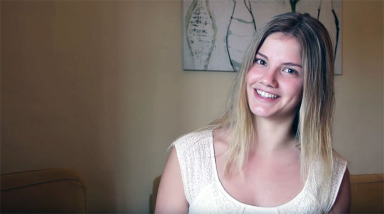 Miss Schleswig-Holstein 2016 erzählt einen Witz…