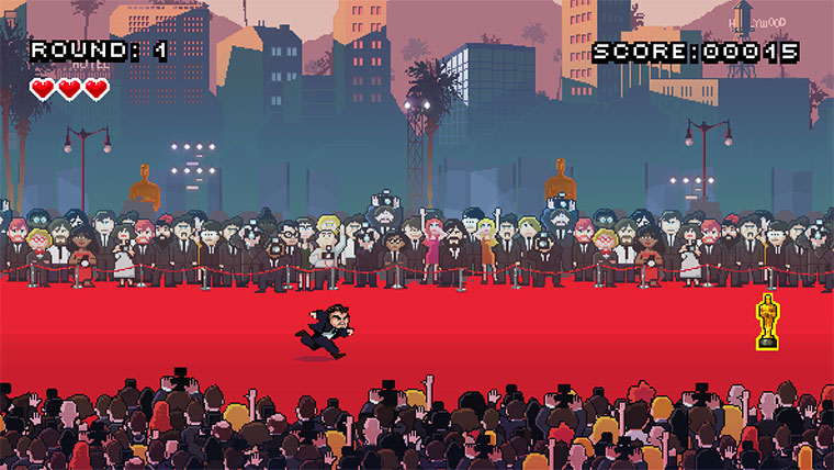 Bringt DiCaprio im Browserspiel zum Oscar!